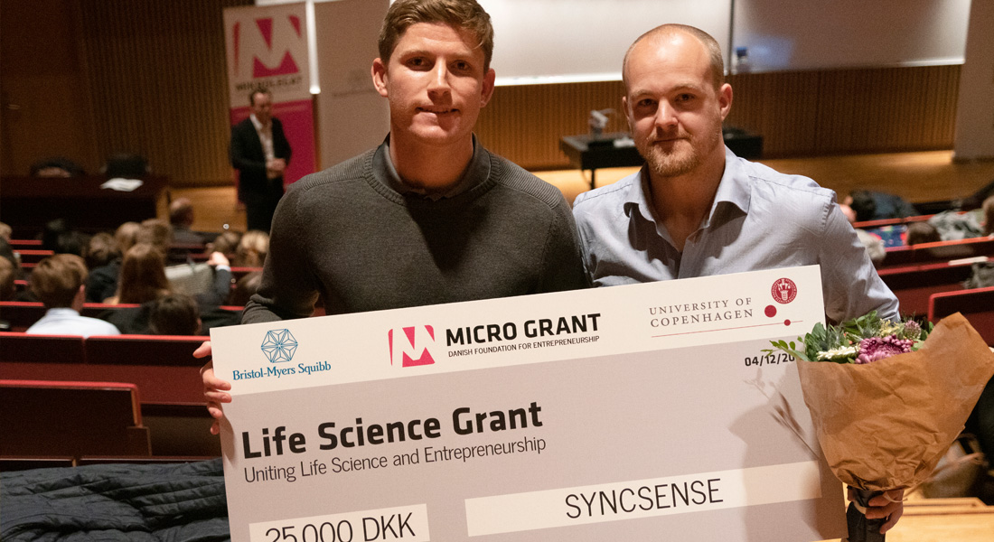 SYNCSENSE får Life Science Grant